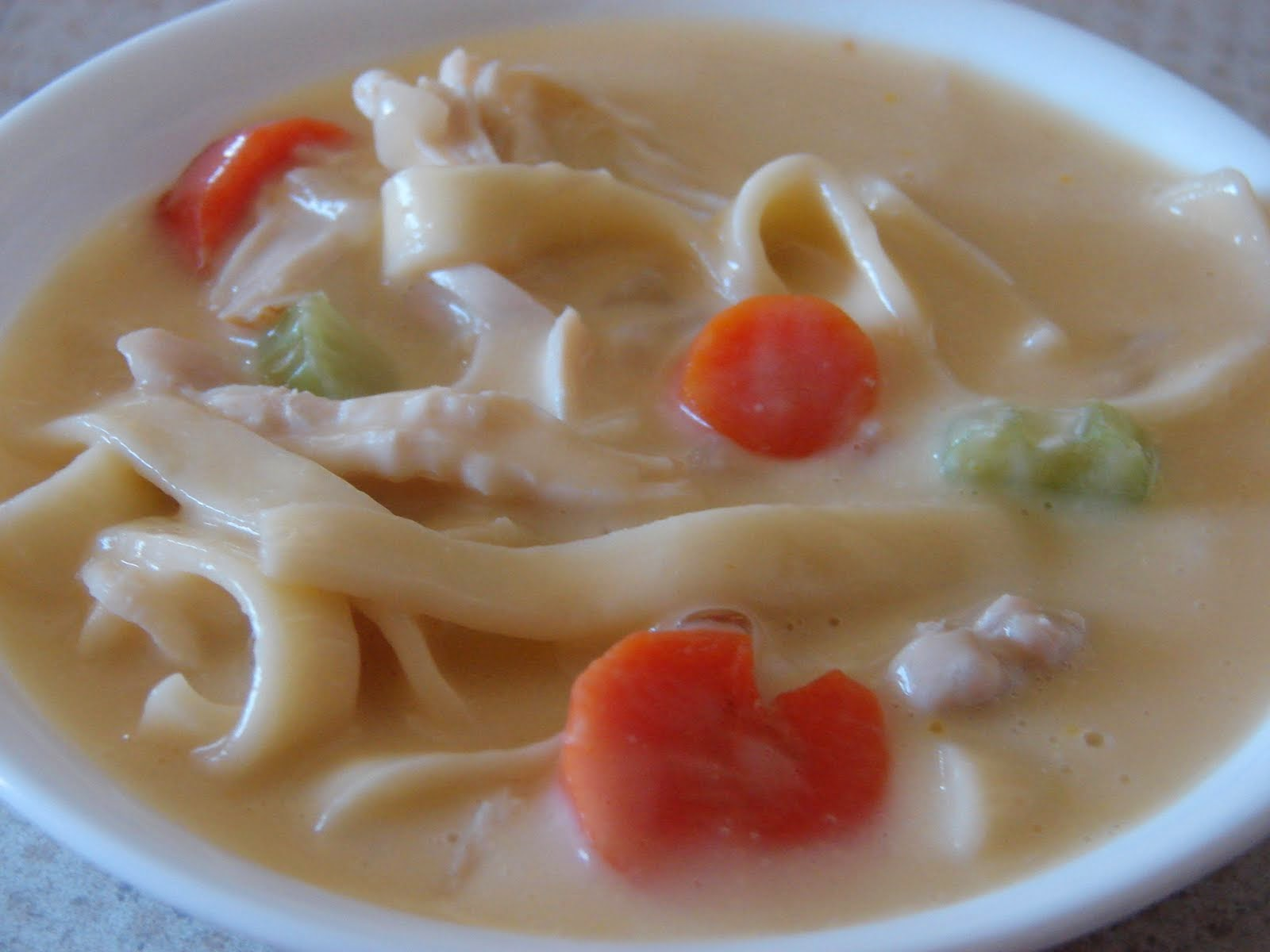 Hearty Cream Chicken Soup Recipe