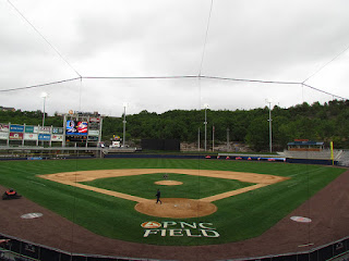 Home to center, PNC Field