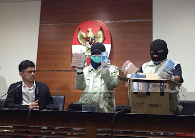 OTT Lampung Tengah, KPK Tetapkan 3 Orang Tersangka