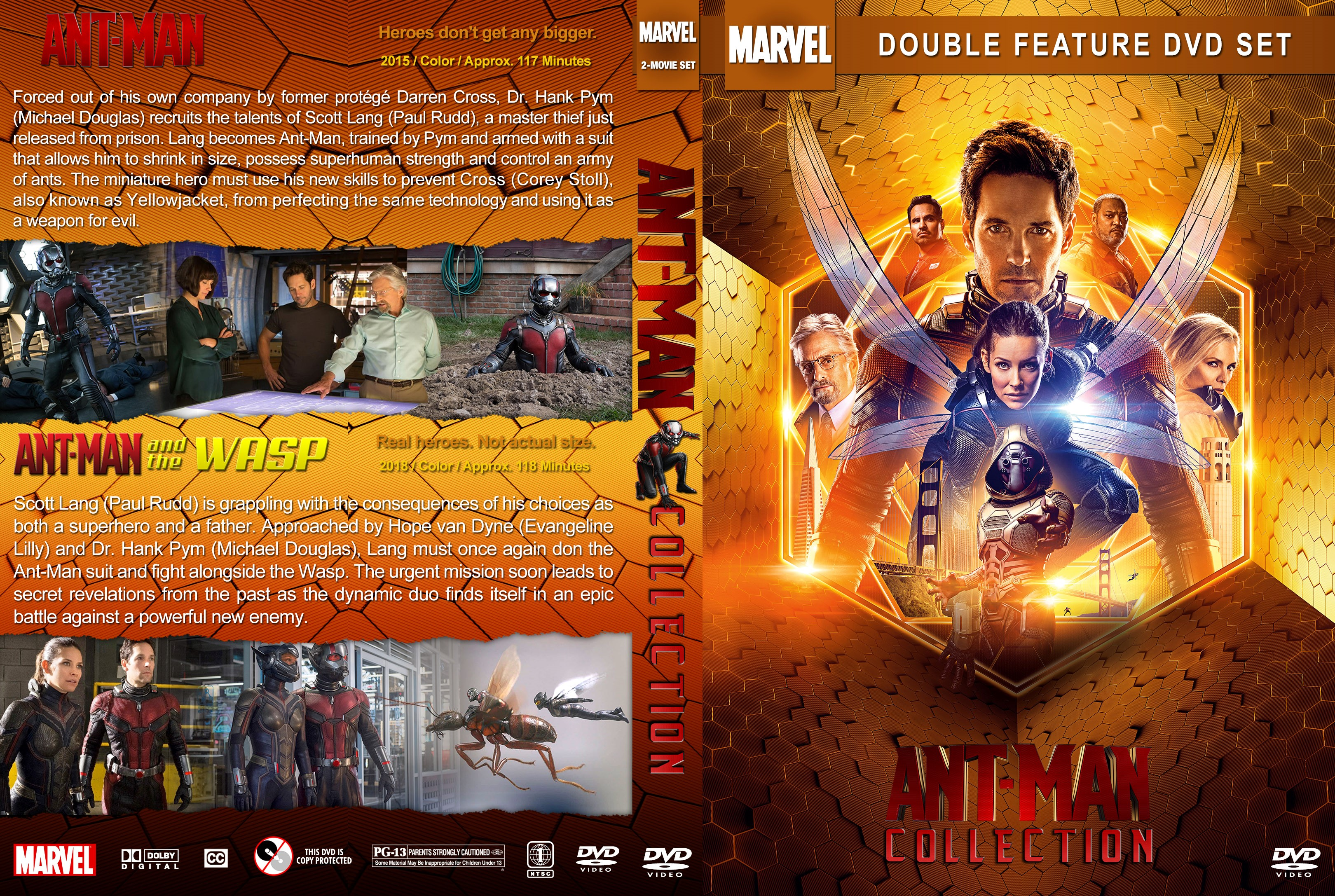Ant-Man Collection DVD Cover   Cover Addict - Free DVD