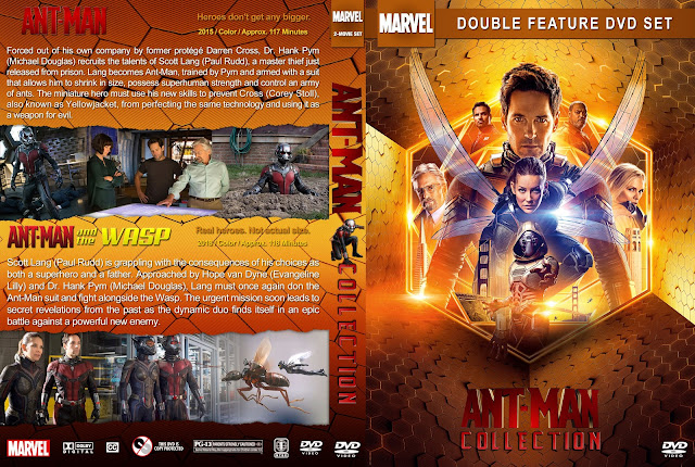 Ant-Man Collection DVD Cover