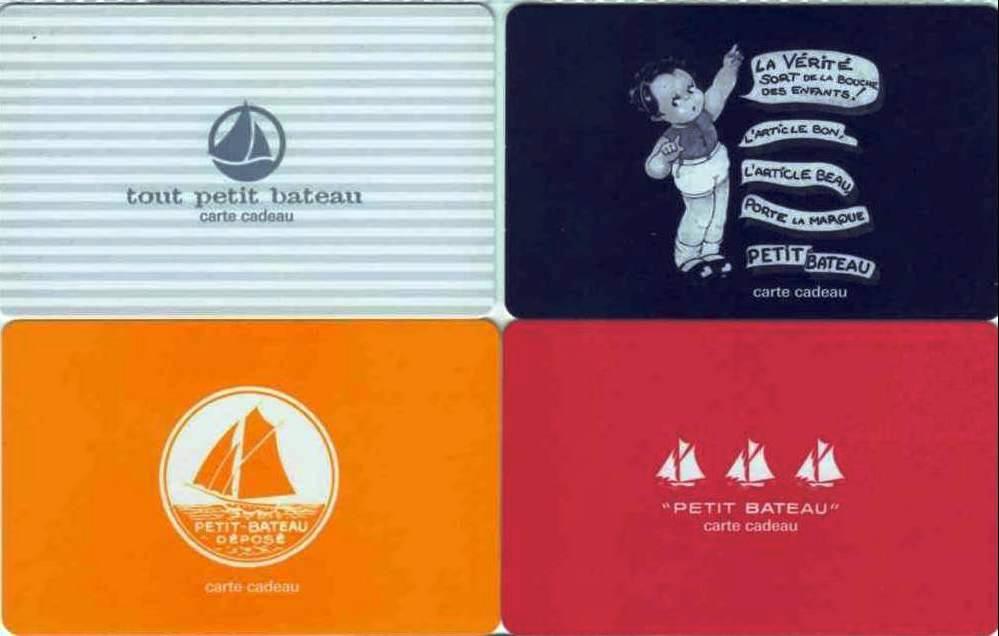 carte cadeau petit bateau Bonneterie: 120 ans PETIT BATEAU   Cartes cadeau