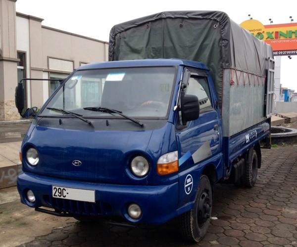 xe tải hyundai 1 tấn đời 2009