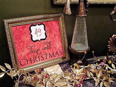 christmas free printable countdown