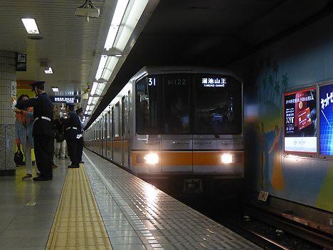 【01系も参戦!】銀座線 溜池山王行き2 01系(渋谷駅改良工事に伴う運行)