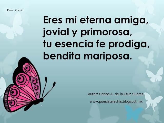 poema mariposa