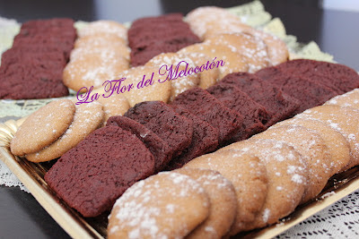 GALLETAS DE JENGIBRE Y CANELA y RED VELVET COOKIES
