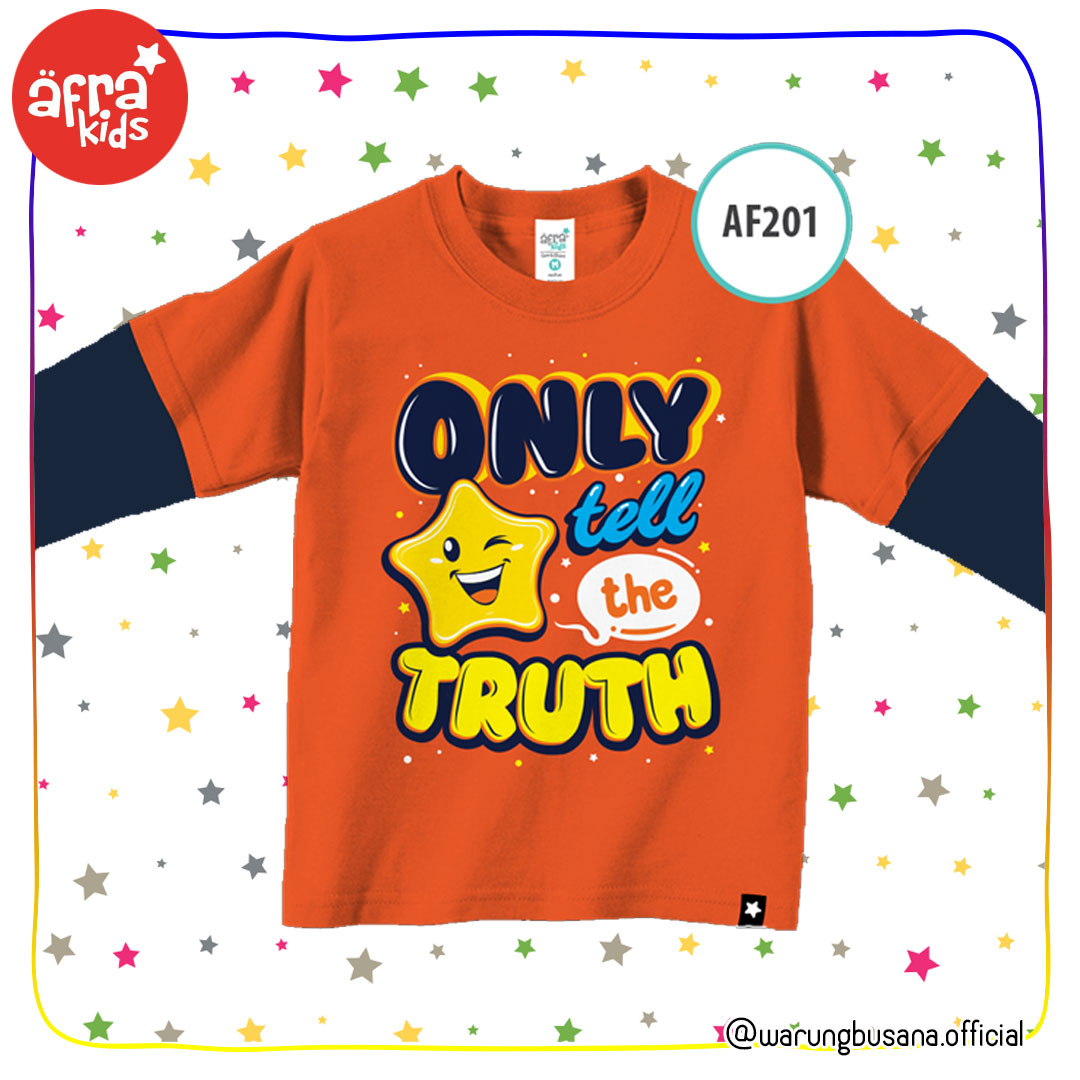 Afrakids Kaos Anak AF201 Only The Truth