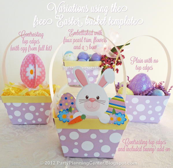 These Easter Baskets Are Perfect For A Variety Of Uses So Having Diffe Options Creating Them Makes More Useful Example If You Want To