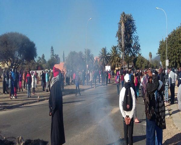 Polokwane!  Westernburg residents protest