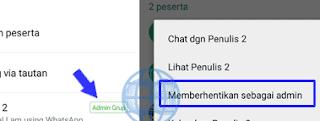 Cara Menghapus dan Mengeluarkan Admin Grup Whatsapp