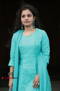 Tamil Actress Preethi Stills in Green Salwar Kameez at Kuzhalosai 2nd Anniversary Fund Raising Event  0028.jpg