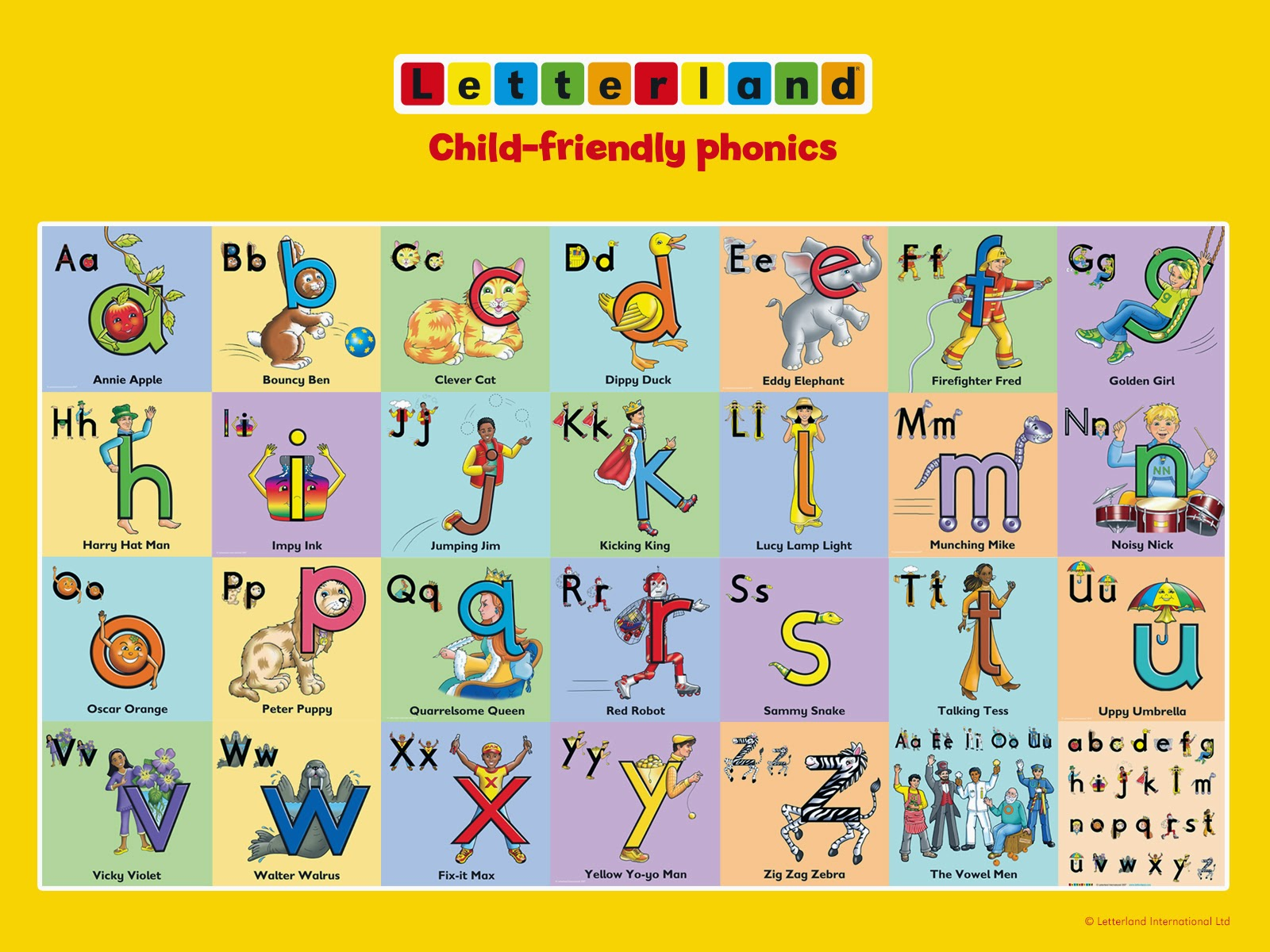 Teaching By The Sea Letterland Letterland There Is No