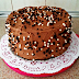 Tarta de doble chocolate con nutella.