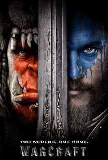 Travis Fimmel and Toby Kebbell in Warcraft, the movie
