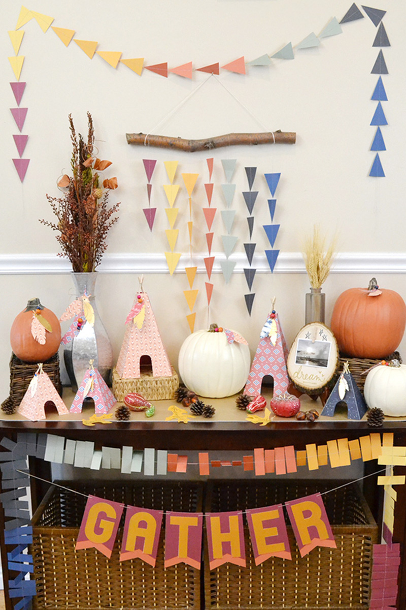 ideas decorating rustic decorations thanksgiving decor chic