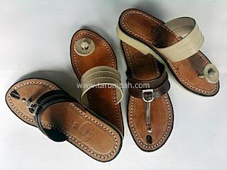 Harga sandal Tarumpah,