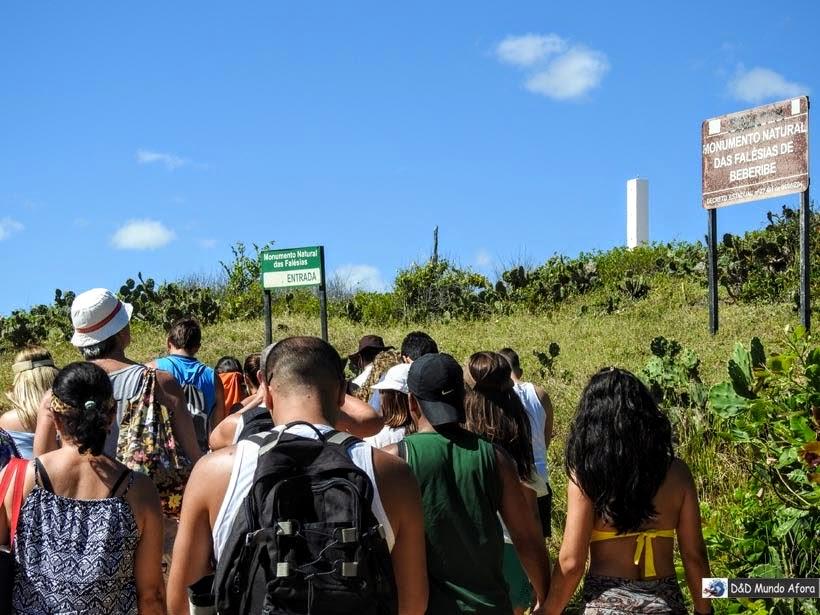 Falésias coloridas de Morro Branco e Praia das Fontes - Tour 3 Praias