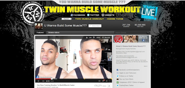 top youtube fitness hodge twins