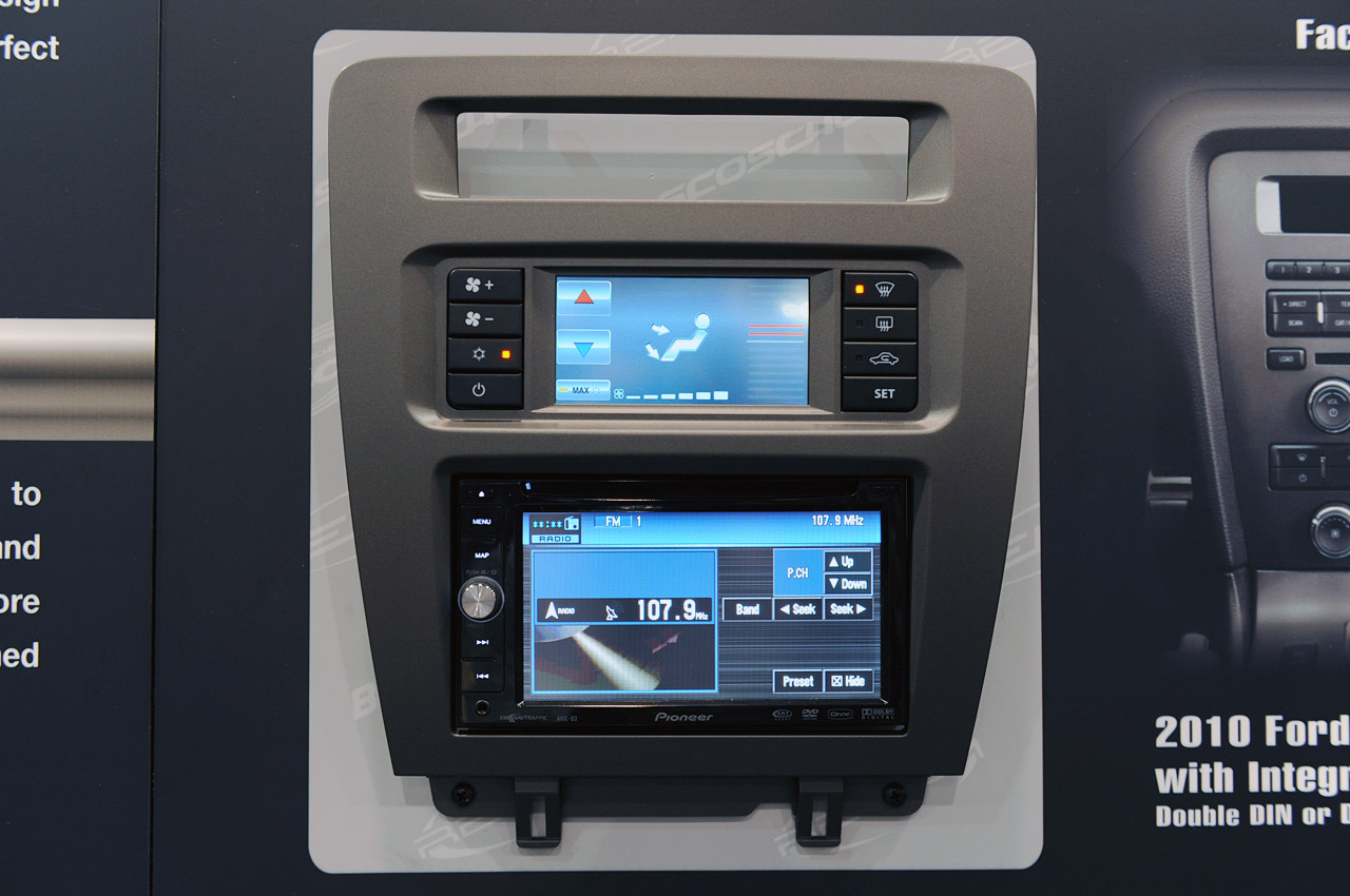 2011 Mustang Double Din Dash Kit
