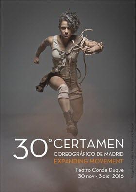 Certamen Coreográfico de Madrid en Conde Duque del 30 de noviembre al 3 de diciembre