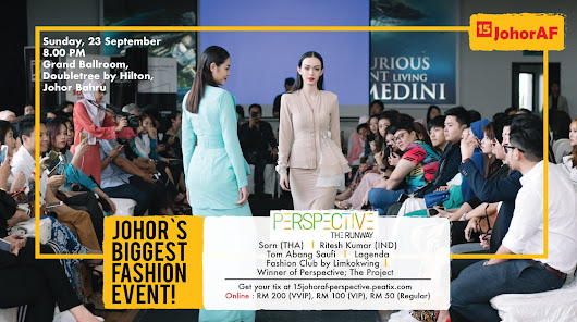 Get Ready for The Hottest Fusion of Art & Fashion Show in Johor Bahru