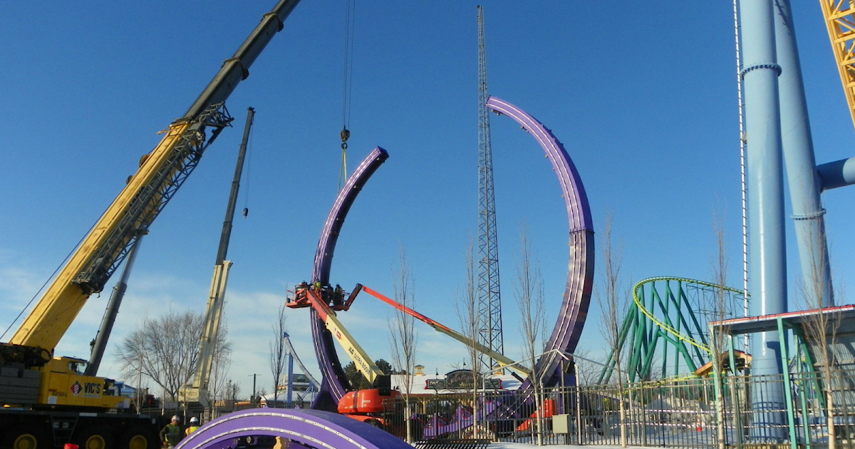 Newsplusnotes New Thrill Ride Delirious Rises At Valleyfair