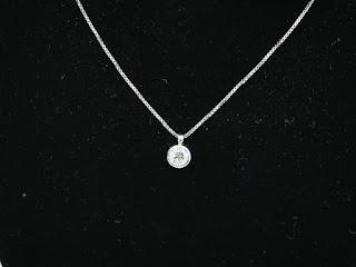 ダイヤモンドネックレスを買い取り致しました