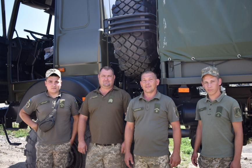 Частина забезпечення ВМСУ отримала партію Богдан-6317