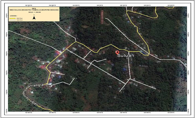 membuat peta desa