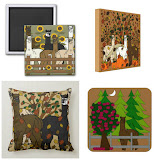 Alpacas Fall & Thanksgiving Home Decor & Clothing Products