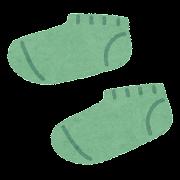 短い靴下のイラスト