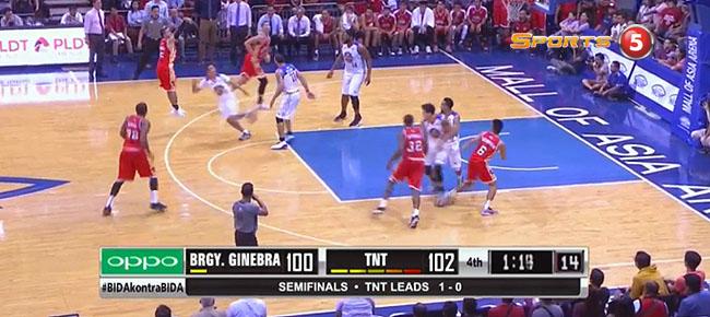 TNT def. Ginebra, 107-103 (REPLAY VIDEO) Semis Game 2 / June 13