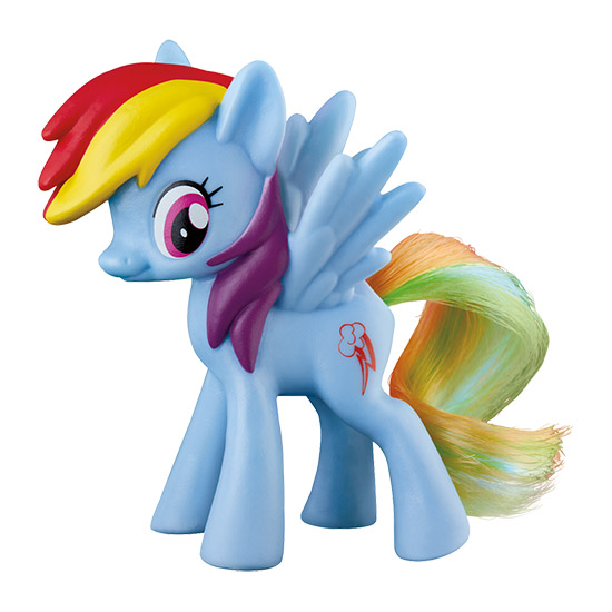My Little Pony Happy Meal Toy Rainbow Dash Figure by