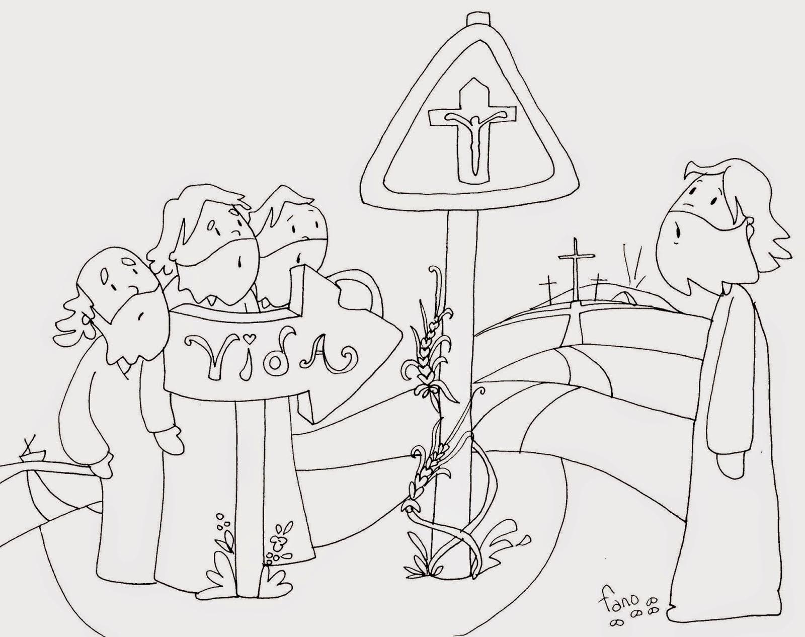 Sgblogosfera Amigos De Jesus La Cuaresma Segun Fano