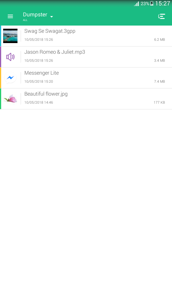 How to Add Recycle Bin on Android