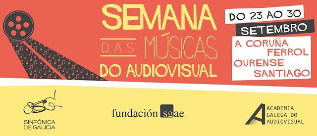 Semana das Músicas do Audiovisual, coruña, conciertos, música