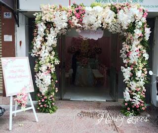 mẫu cổng hoa cưới đẹp nhất 5
