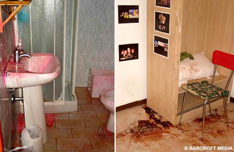 Amanda Knox Photos Crime Scene Meredith Kerche...