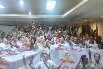 Relawan Buruh Sahabat Jokowi Deklarasikan Dukungan untuk Jokowi-Ma'ruf