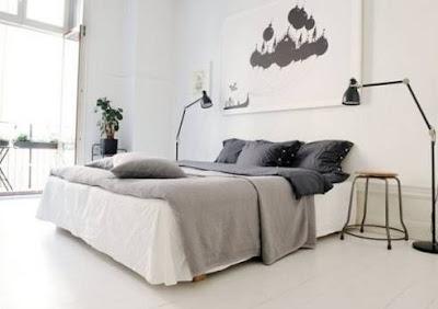 Desain Gambar Kamar Tidur Kontemporer Menakjubkan