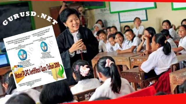 Materi Additional Pedagogik PLPG Sertifikasi Guru 2016