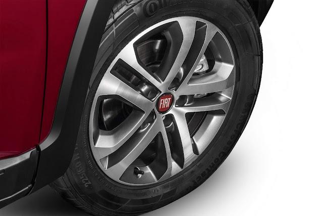 Fiat Toro 2017 2.4 Flex Automática - rodas de 17 polegadas