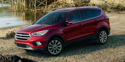 2017 Ford Kuga Facelift SUV
