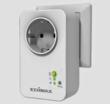 Edimax SP-1101W Smart Plug Switch in Wall Socket