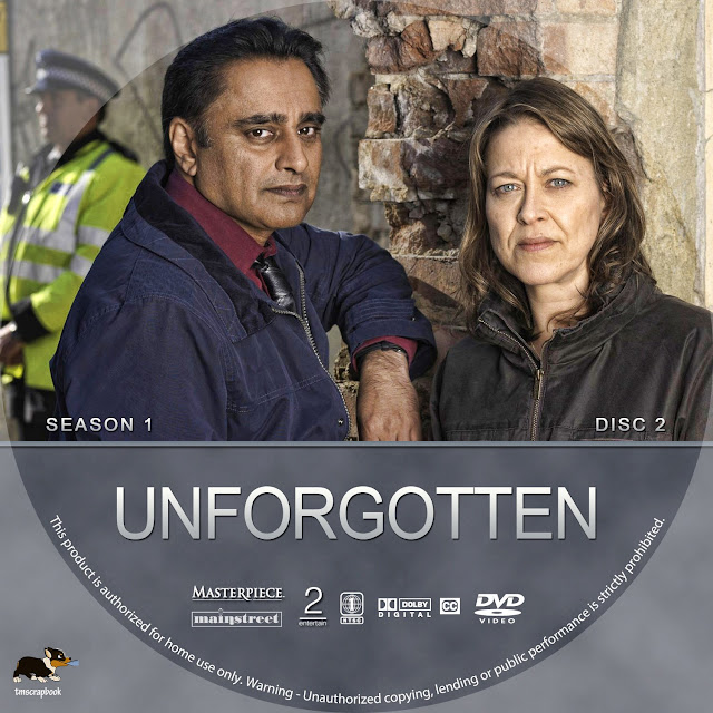 Unforgotten Season 1 Disc 2 DVD Label