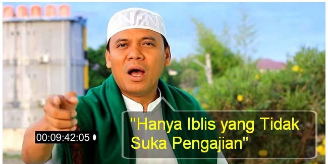 """VIDEO: Pengajian Islam Dibubarkan, GUS NUR: """"Hanya Iblis yang Tidak Suka Pengajian!"""""""