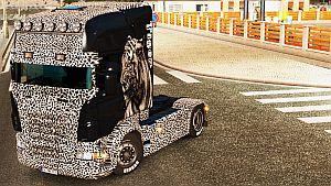 Tiger & Leopard skin for Scania RJL by EviL