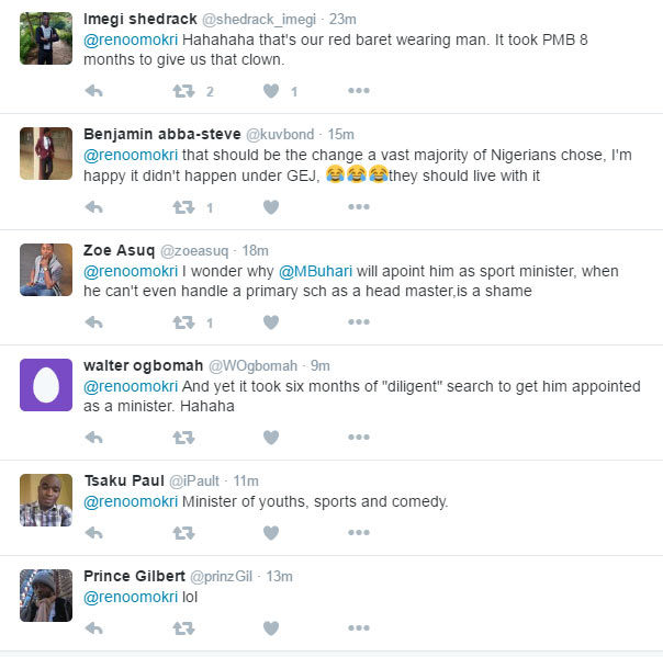 """Reno Omokri and his followers roast Dalung for """"funds were spended"""" blunder"""