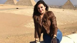 الحكم بالسجن 8 سنوات علي اللبنانية منى المذبوح بعد تطاولها على المصريين